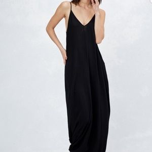 Black Lovestitch Mila Maxi Dress